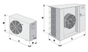 Компрессорно-конденсаторные блоки Rhoss MCAE, MHAE