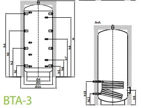 теплоаккумулятор ВТА-3