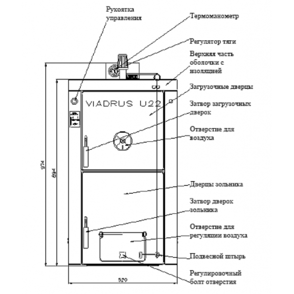 Viadrus Hercules U22 Basic
