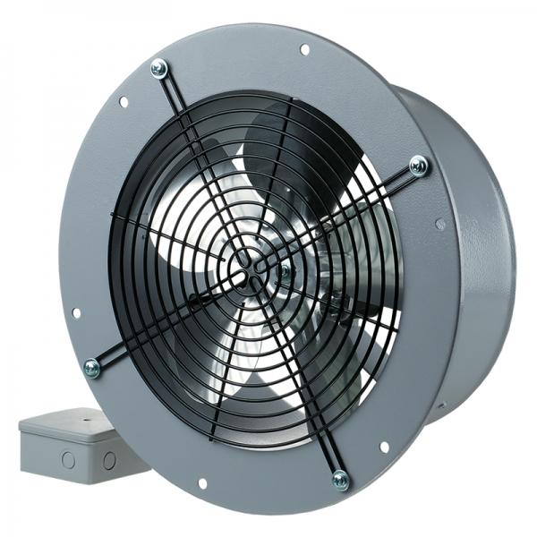 Осевые вентиляторы серии Axis-QRA Blauberg