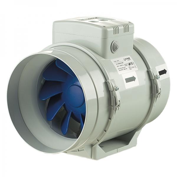 Круглый канальный вентилятор серии Turbo 100 Blauberg