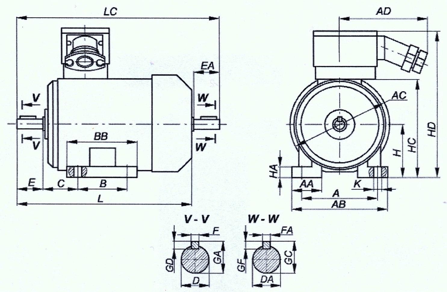 Взрывозащищенный электродвигатель ВА112S8? ВА 112 S8