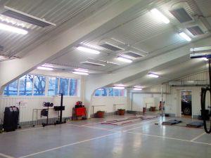 Промышленные потолочные панели обогрева