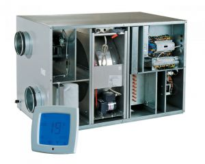 Приточно-вытяжная установка Вентс (Vents) ВУТ Р 900 ВГ ЕС