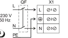 схема подключения ОВ1