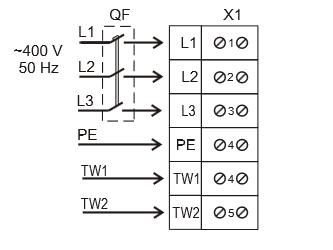 подключение к сети VENTS VKP 4D 600x350