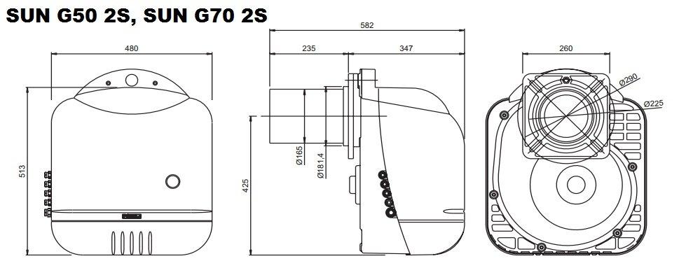 G50 2S, G70 2S